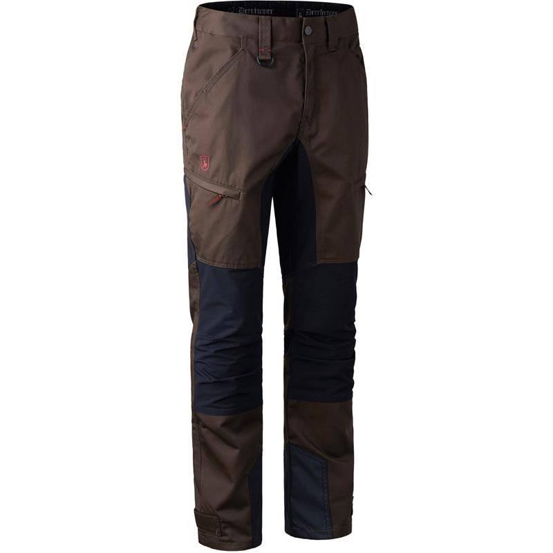 Pantalon Homme Deerhunter Rogaland Stretch Trousers Contrast - Brown Leaf