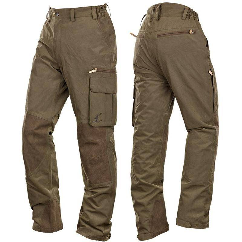 Pantalon Homme Stagunt Scot'land  Pant Forest Night - Kaki