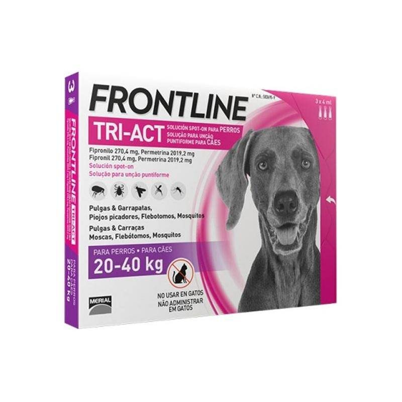 Pipette Insecticide Frontline Tri-Act L 20-40Kg