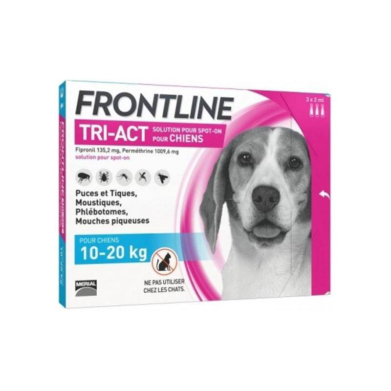 Pipette Insecticide Frontline Tri-Act M 10-20Kg