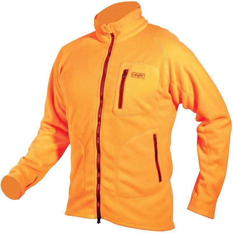 Polaire Homme Hart Wagrain-Fz - Orange