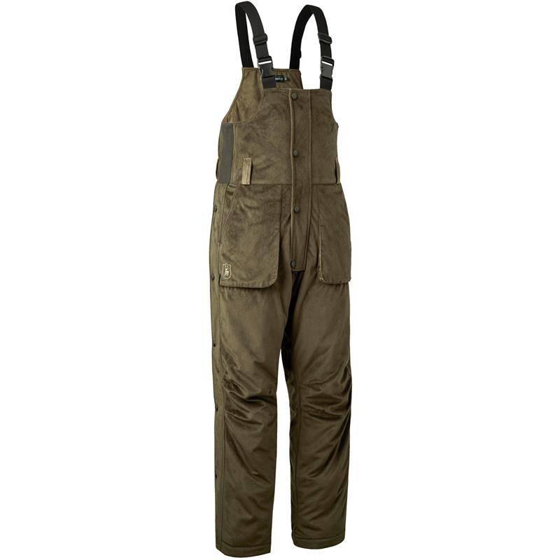 Salopette Homme Deerhunter Rusky Silent Bib Trousers - Peat