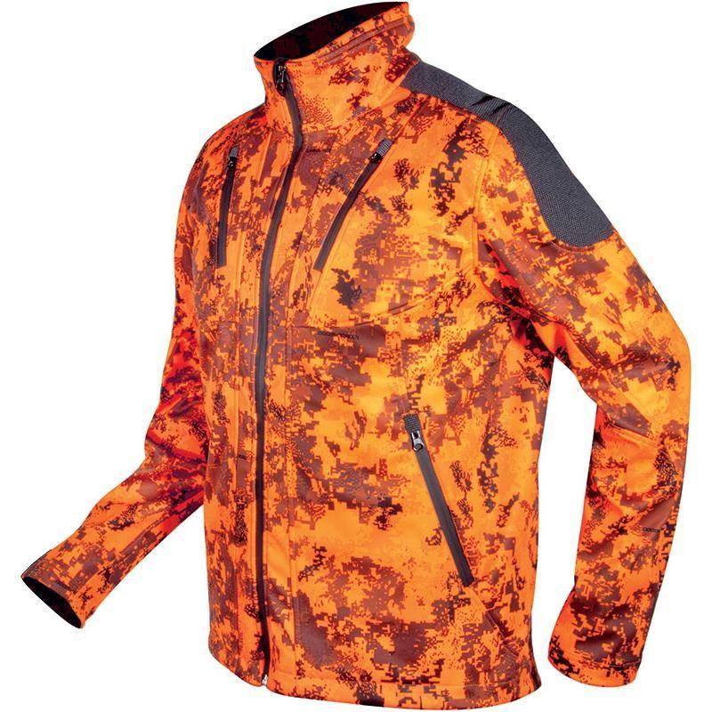 Softshell Homme Hart Cross-S - Camou Orange