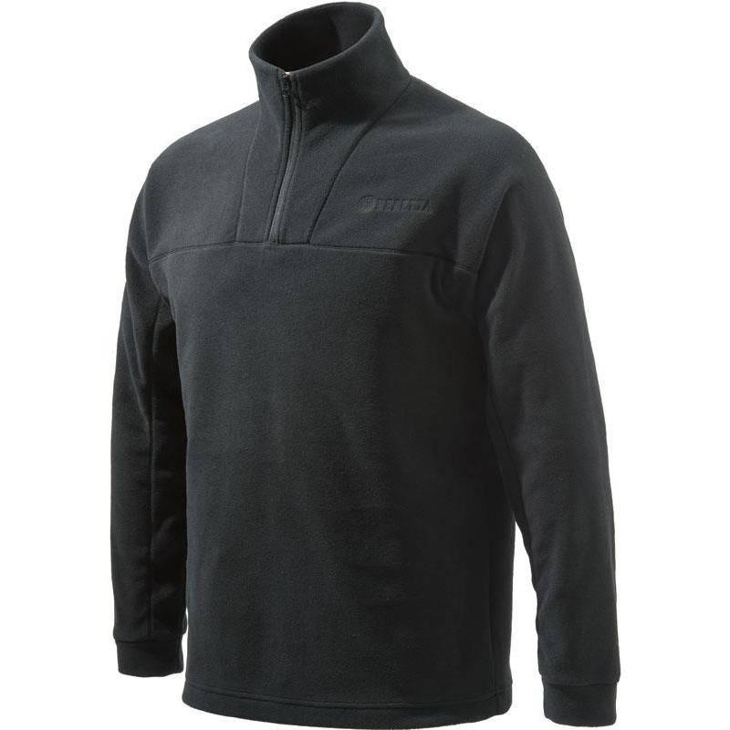 Sweat Polaire Homme Beretta Half Zip Fleece - Noir