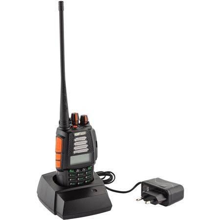 TALKIE WALKIE CRT FRANCE 4CF BIBANDE VHF / UHF RADIO FM