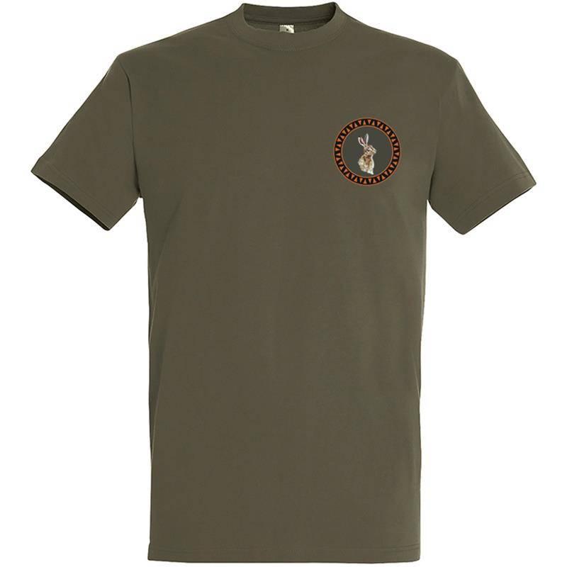 Tee Shirt Manches Courtes Homme Bartavel Petit Lievre - Kaki
