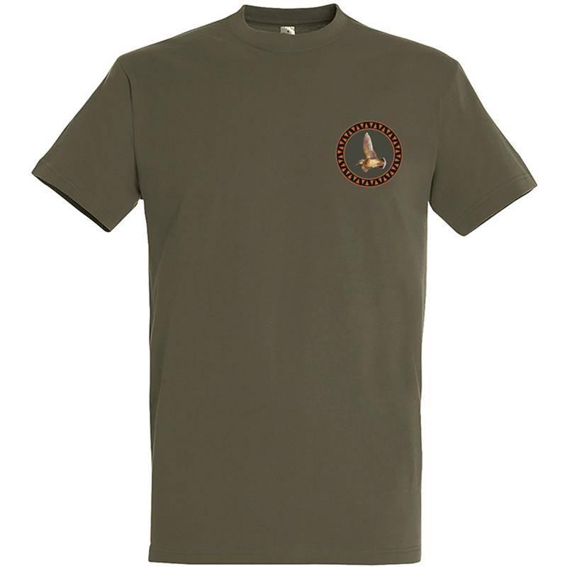 Tee Shirt Manches Courtes Homme Bartavel Petite Becasse - Kaki