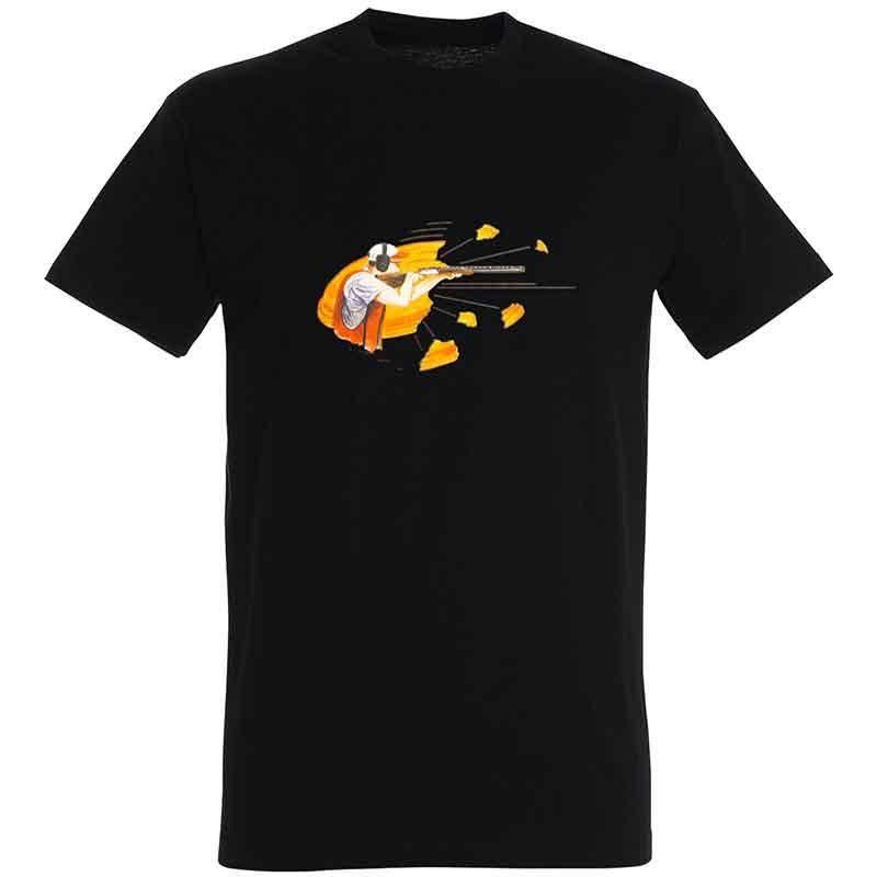 Tee Shirt Manches Courtes Homme Bartavel Shooter - Noir