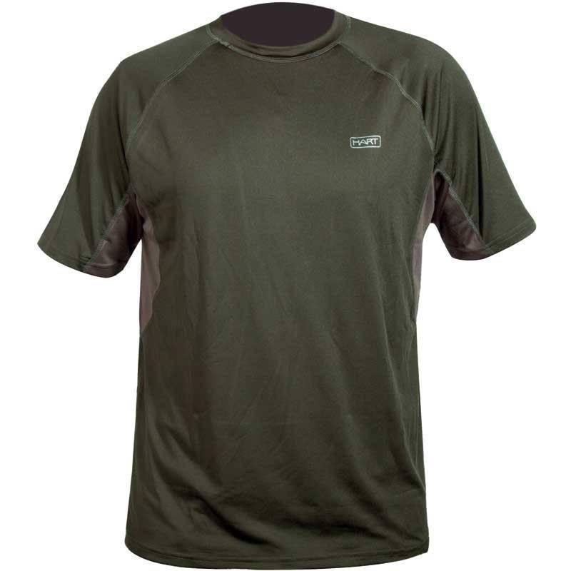 Tee Shirt Manches Courtes Homme Hart Muguet-Ts - Olive