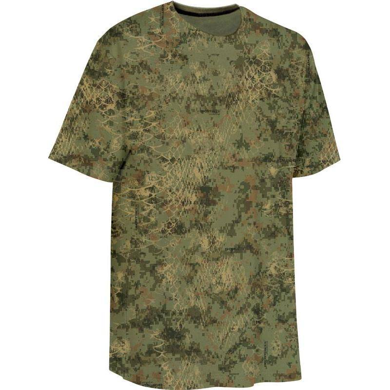 Tee Shirt Manches Courtes Homme Ligne Verney-Carron Snake - Camou