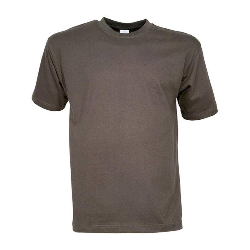 Tee Shirt Manches Courtes Homme Percussion - Kaki