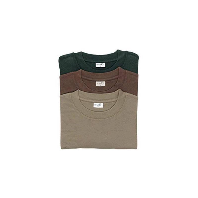 Tee Shirt Manches Courtes Homme Percussion Unis - Par 3