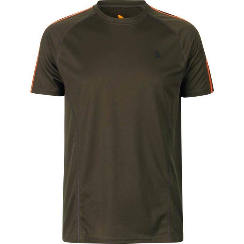 Tee Shirt Manches Courtes Homme Seeland Hawker - Vert