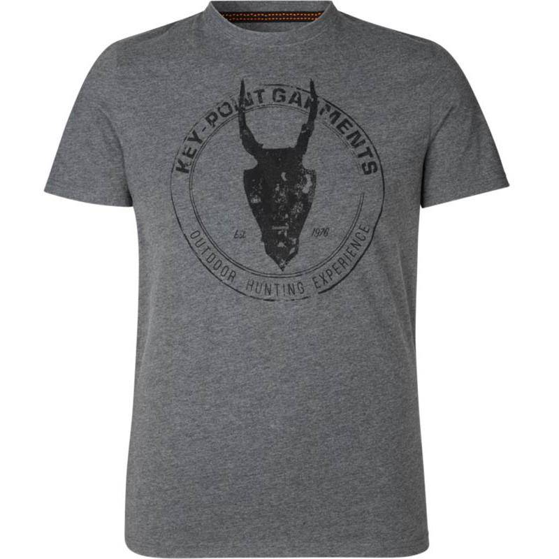 Tee Shirt Manches Courtes Homme Seeland Key-Point - Gris