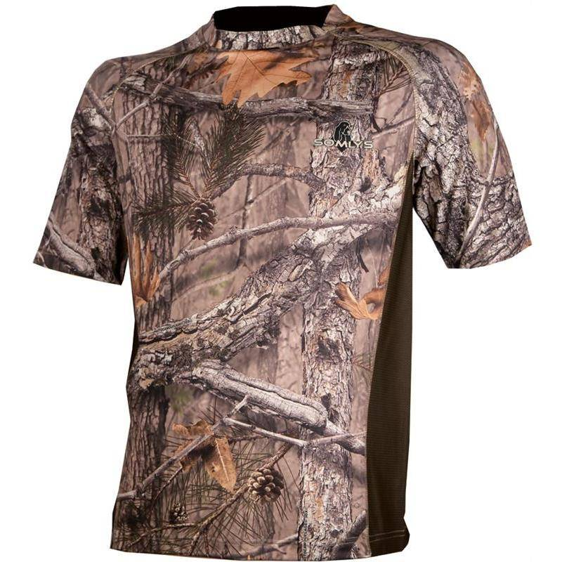 TEE SHIRT MANCHES COURTES HOMME SOMLYS 032 - CAMOU