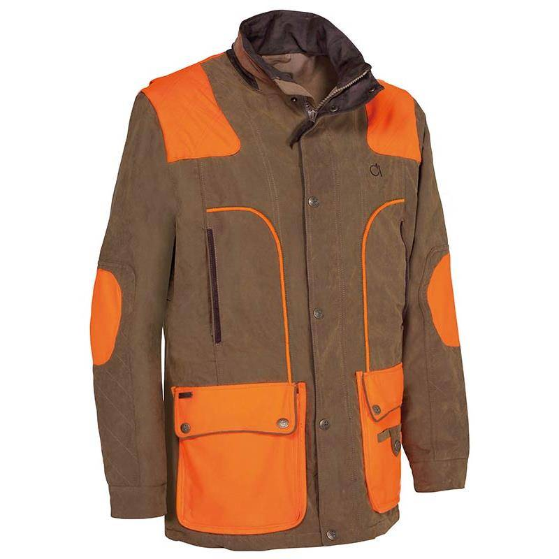 Veste Homme Club Interchasse Charles - Tabac/Orange