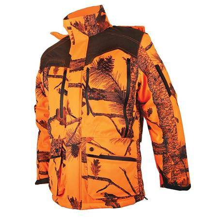 VESTE HOMME SOMLYS 474 THERMO HUNT - CAMO ORANGE